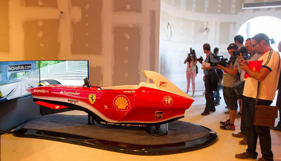 Ferrari Land deixa veure el 65% de la seva fisonomia definitiva
