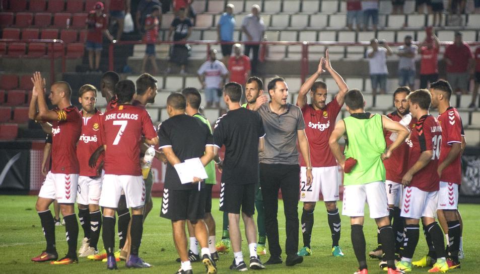 Vicente Moreno sap que és de vital importàn cia començar a guanyar partits.