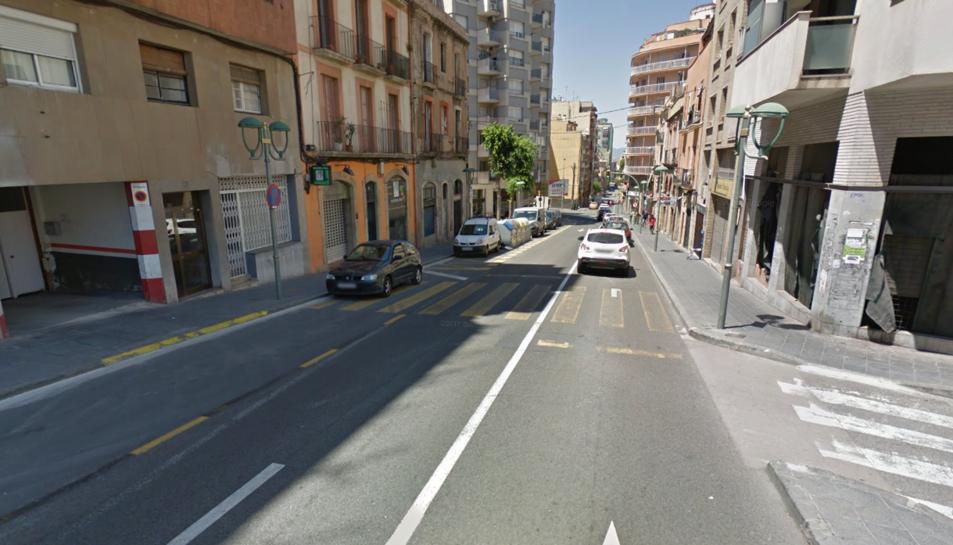 imatge del carrer Estanislau Figueres.