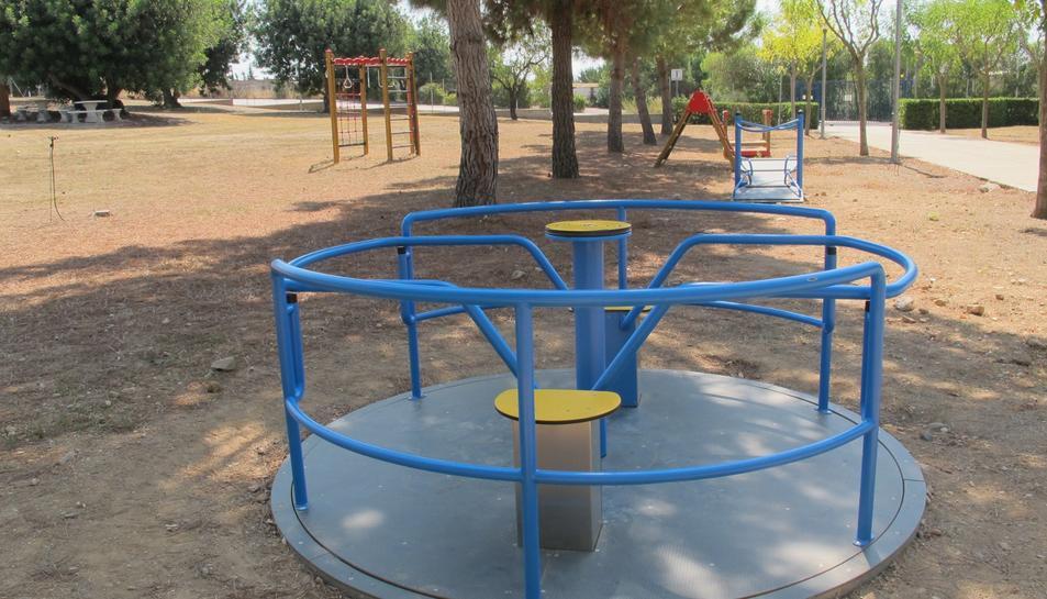 Imatge del parc de psicomotricitat del centre de dia Marinada.