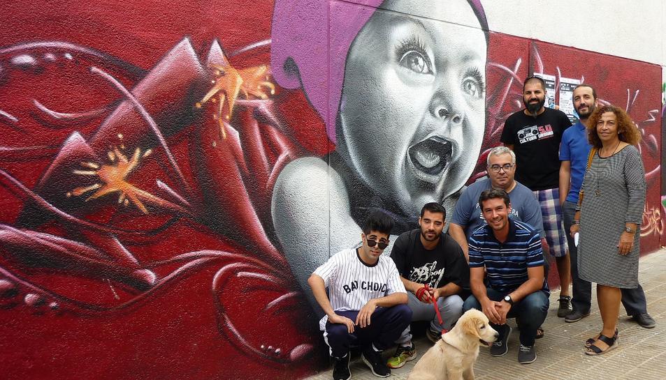 Concurs de grafitis que tindrà lloc dins del Festival d'strret dande del Vendrell.