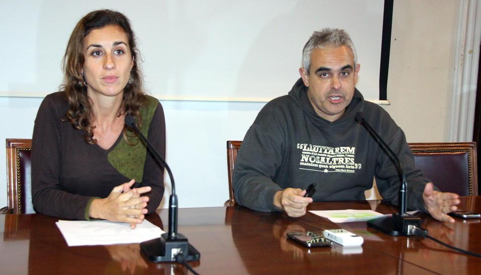 Imatge d'arxiu de Laia Estrada i Josep Martí.