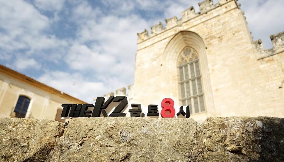 Imatge del rodatge de 'K2' a Santes Creus.