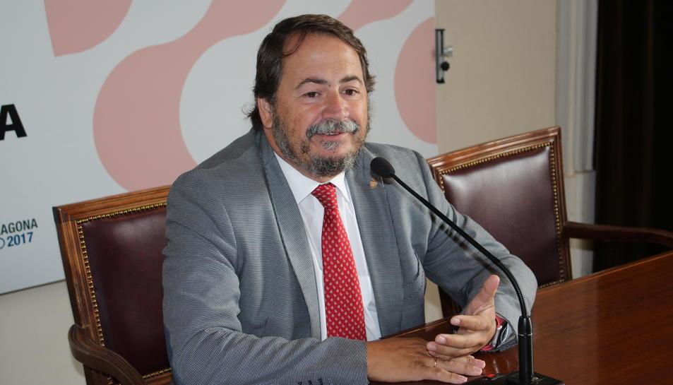 El conseller d'Economia i Hisenda, Pau Pérez.