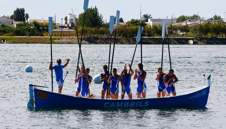 Vogadors de Cambrils aconsegueix sis ors al XXII Campionat de Catalunya de Llagut