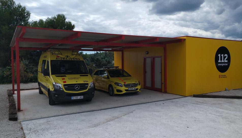 Ambulància, SEM, Alcover, 112, emergències