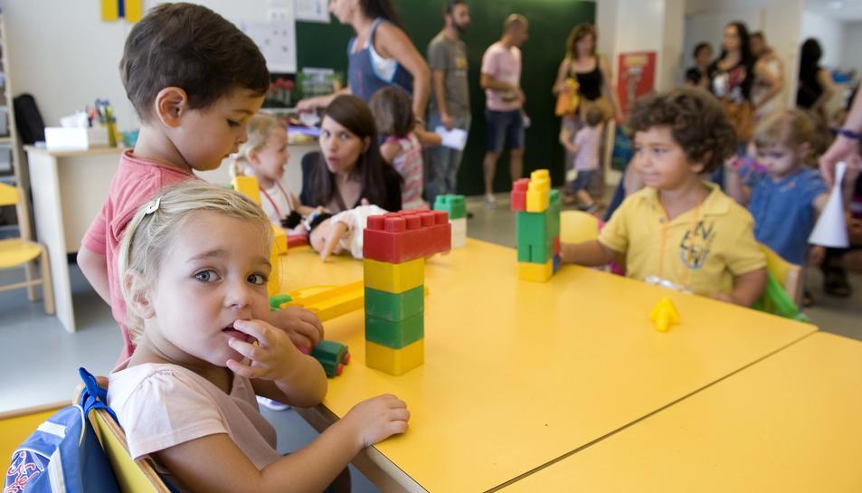 Reus i Tarragona tenen el 36% de nens entre 0 i 2 anys escolaritzats