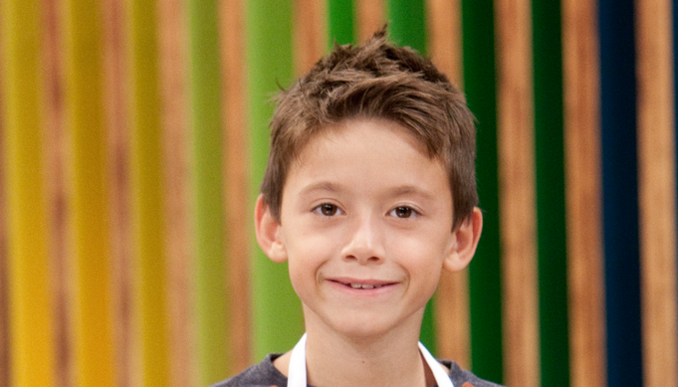 Lukas Vives, finalista de MasterChef Junior.