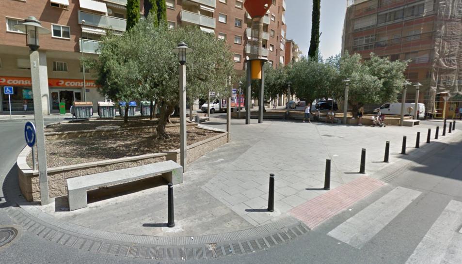 La baralla va tenir lloc a la plaça del Compte de Reus.