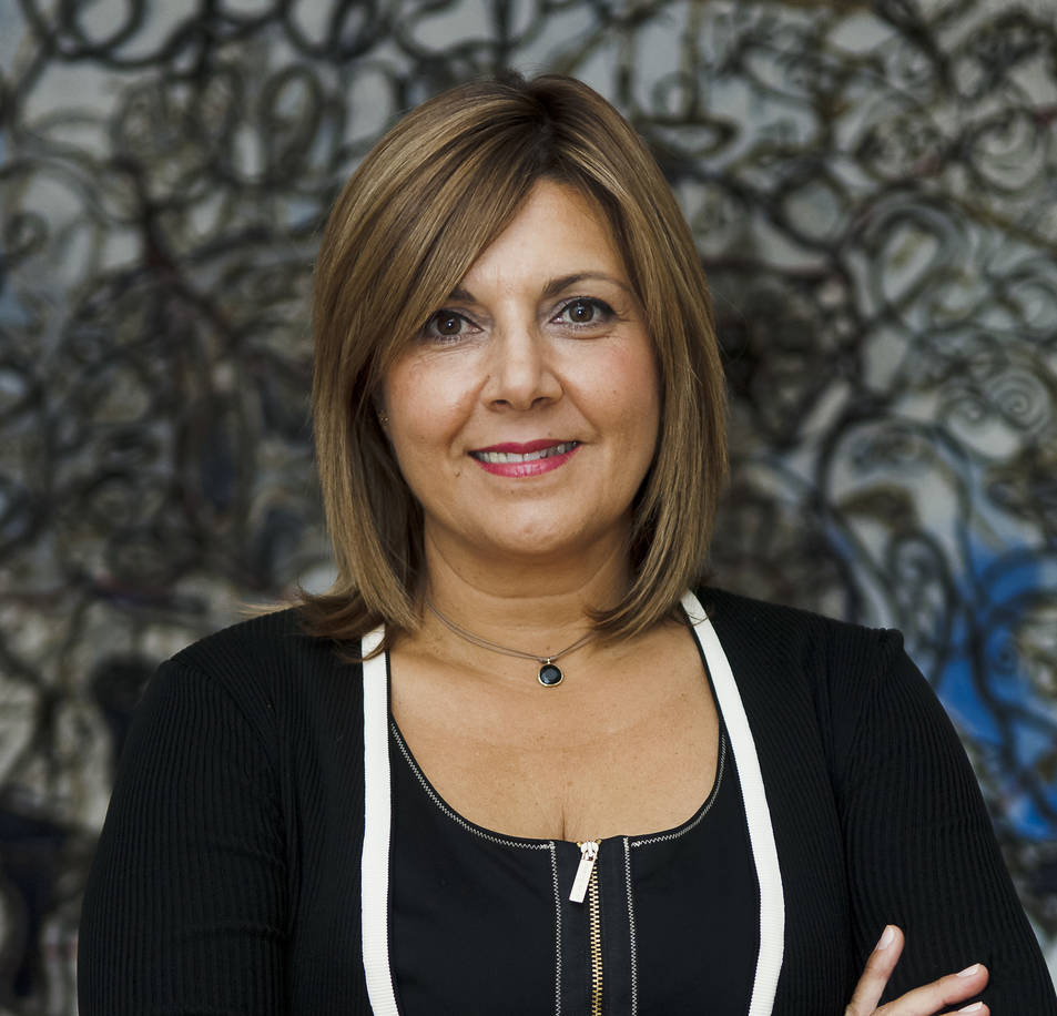 Imatge de la nova directora de CaixaForum Tarragona, Maria Glòria Olivé.