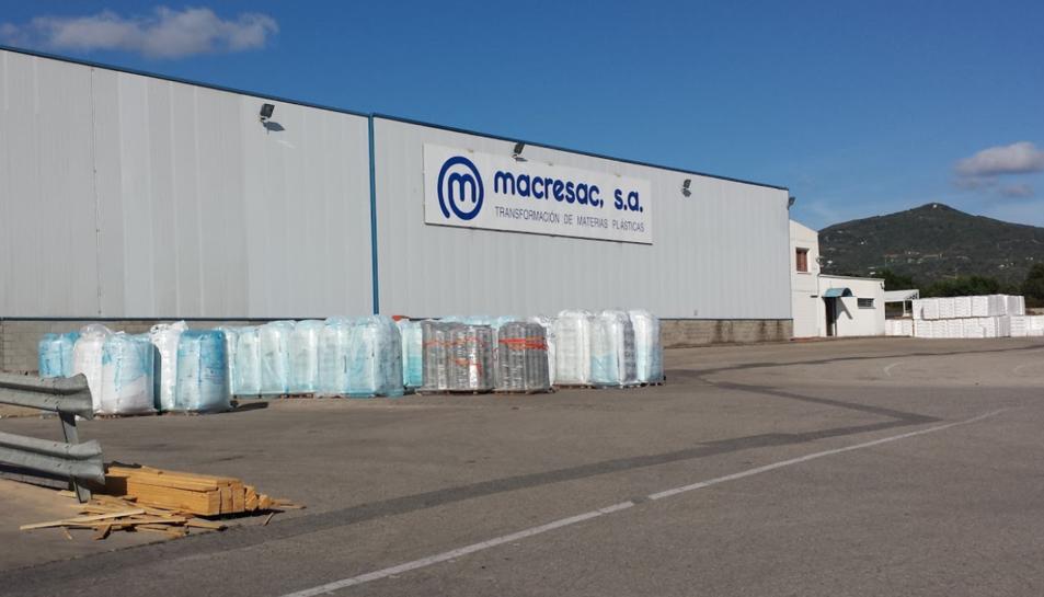 Els fets s'han produït a l'aparcament de l'empresa Macresac.