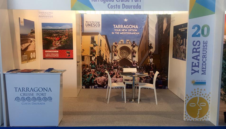 Stand de Tarragona Cruise Port Costa Daurada