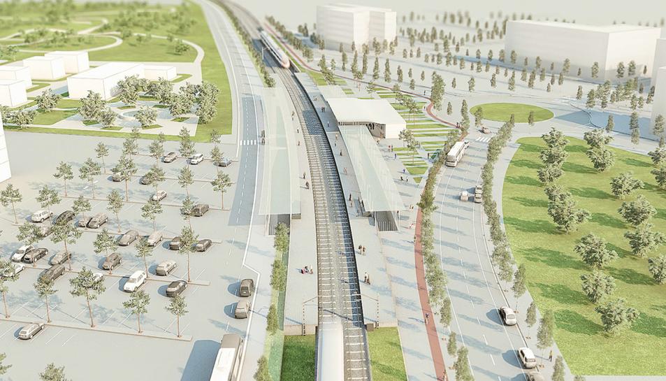 El baixador de Bellissens donaria servei a 3.000 viatgers i augmentaria un 100% els usuaris de tren.