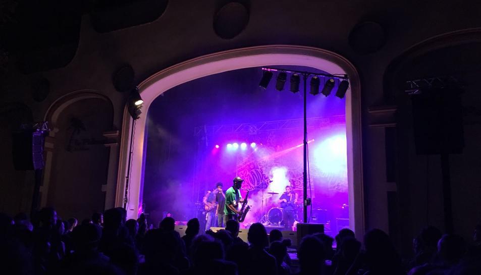 El concert d'Alex Bass & The Same Song Band a la Palma.
