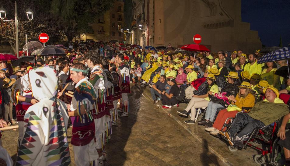 El programa ha permès integrar a persones de mobilitat reduïda en diversos actes de les festes.