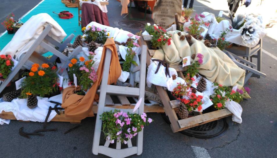 Imatge de la primera edició de la Festa de les Flors de Reus.
