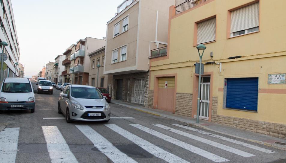 Un carrer del barri de Torreforta.