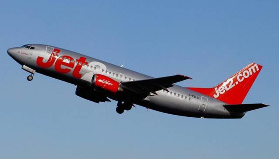 Un avió de Jet2