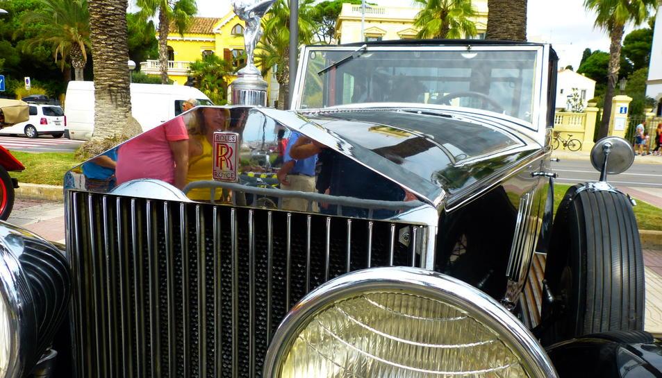 El vehicle guanyador de la Salonia de Plata de la sortida.