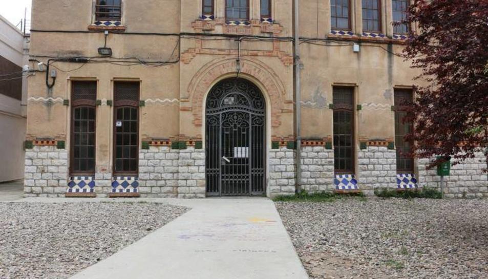 L'antiga escola Olga Xirinacs, escenari de la pel·lícula Occidente