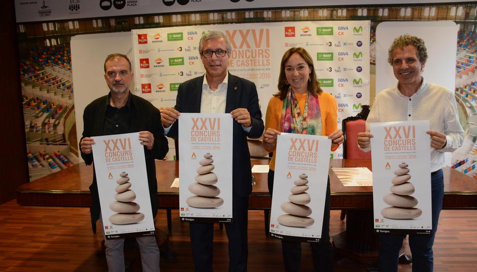 Tarragona, a punt pel Concurs de Castells amb més colles