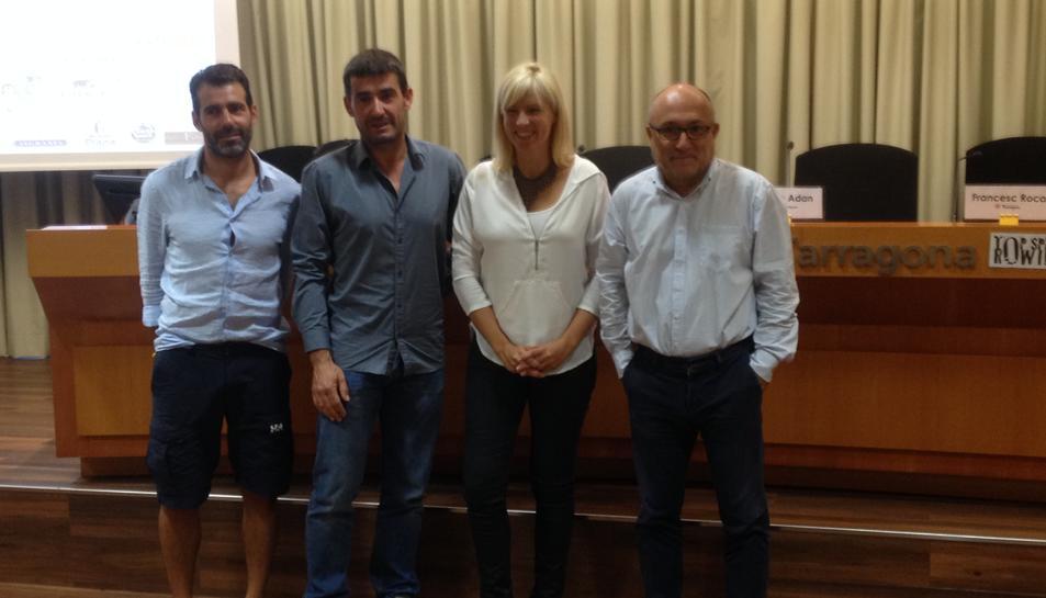 Alejandro Deimidi, Josep Torrell, Montse Adan i Francesc Roca.