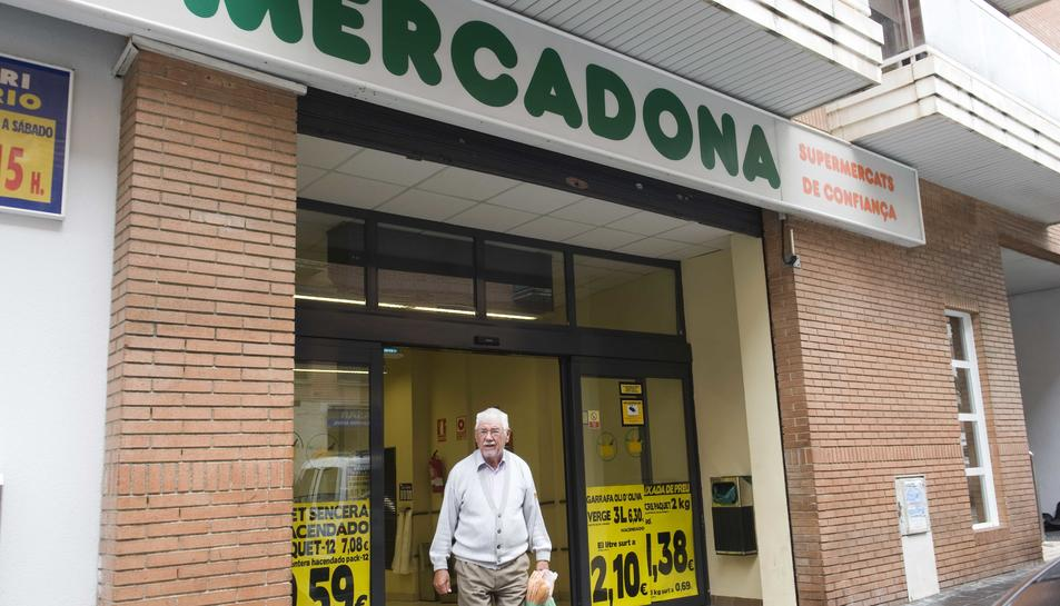 El supermercat Mercadona situat al carrer Manuel de Falla.