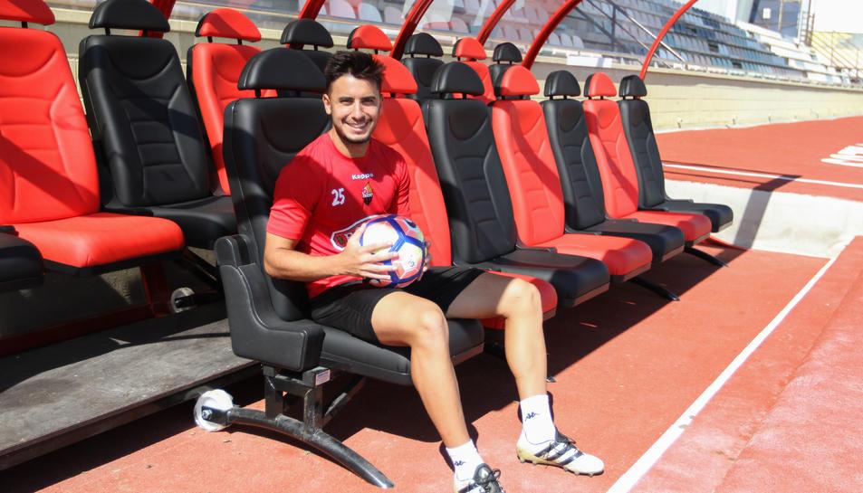 Guzzo va debutar la setmana passada al Tartiere amb l'assistència del 0-1 que marcava Máyor.