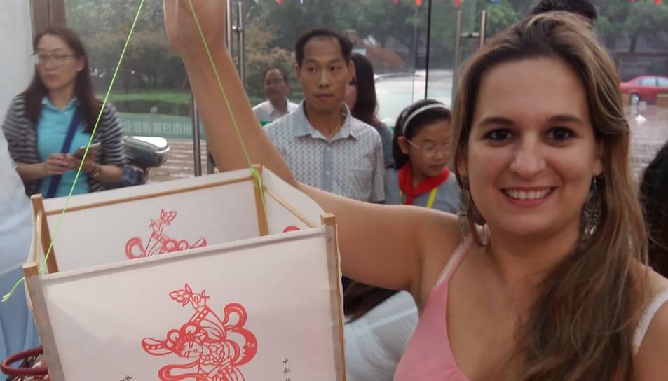 La tarragonina està fascinada amb la cultura xinesa.