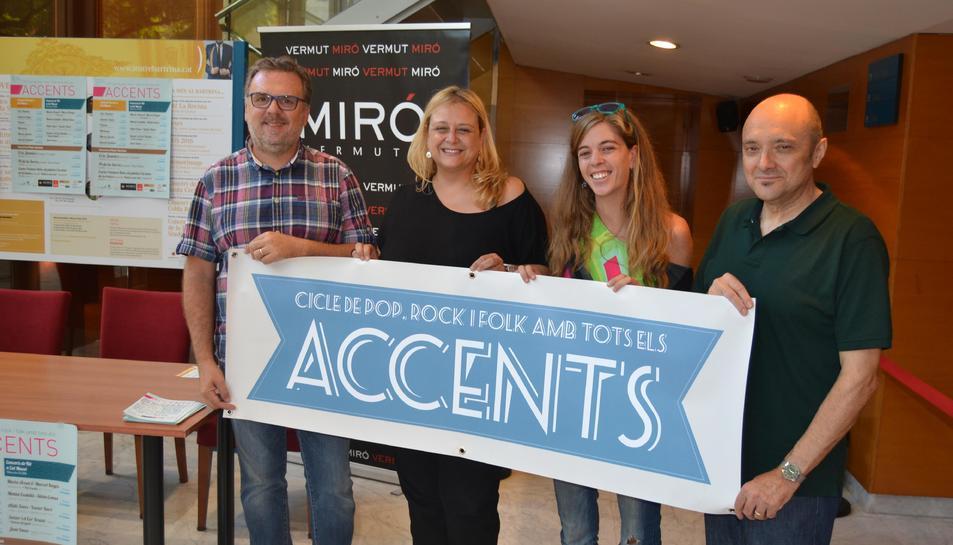 imatge de la presentació de la tercera edició d'Accents de Reus.