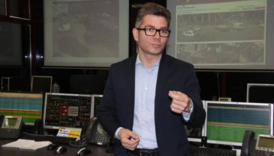 El regidor de Promoció Econòmica i Ocupació de l'Ajuntament de Reus, Marc Arza.