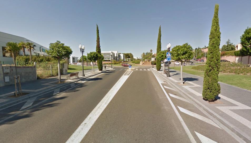 L'accident es va produir a la Via Augusta, entre les platges de l'Arrabassada i la Sabinosa.
