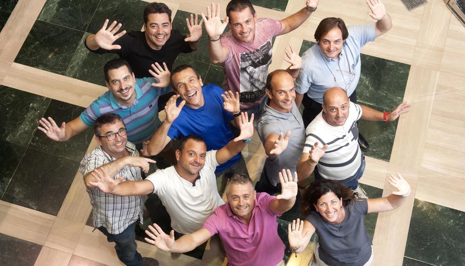 Els membres de la junta de Sosciathlon volen superar els 1.100 participants de l'any passat.
