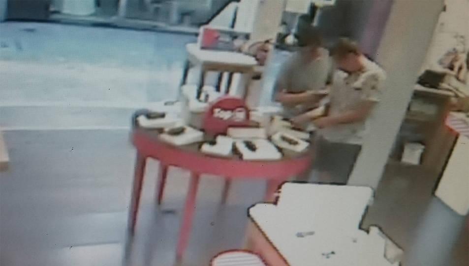 Imatges captades per la càmera de seguretat.