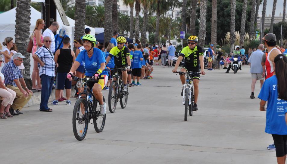La cursa ciclista ha comptat amb participants de totes les edats.