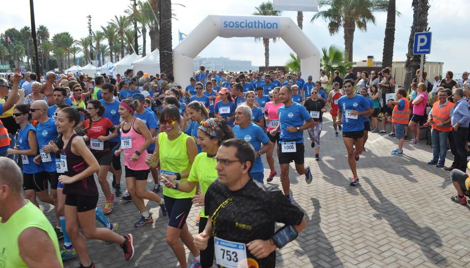 La cursa a peu ha estat la que ha comptat amb més participació.