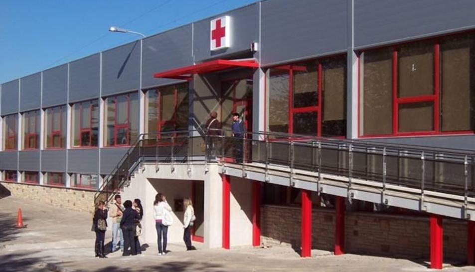 Oficina provincial de Creu Roja a Tarragona.