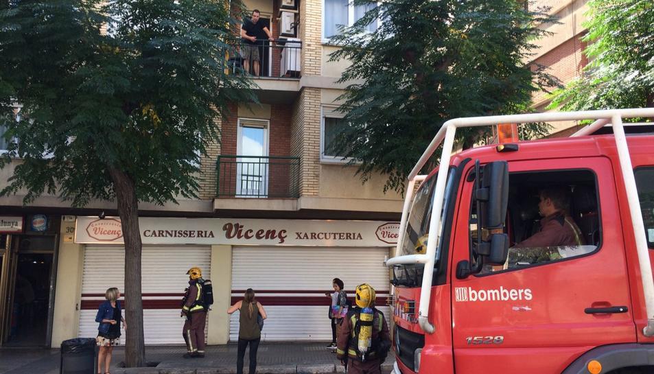 L'edifici afectat ha estat el número 30 de l'avinguda Catalunya.