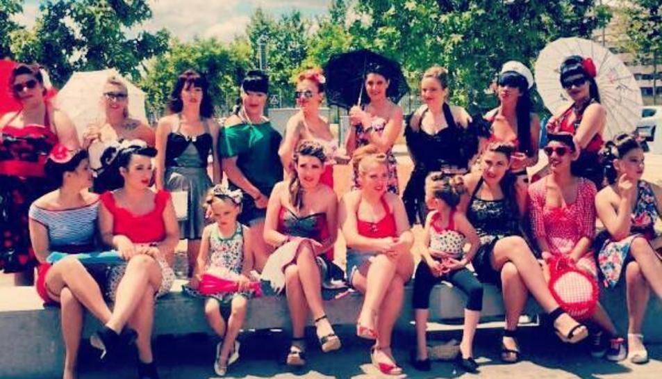 La Costuritas Rebelde desfilaran amb els seus models 'Pinup'