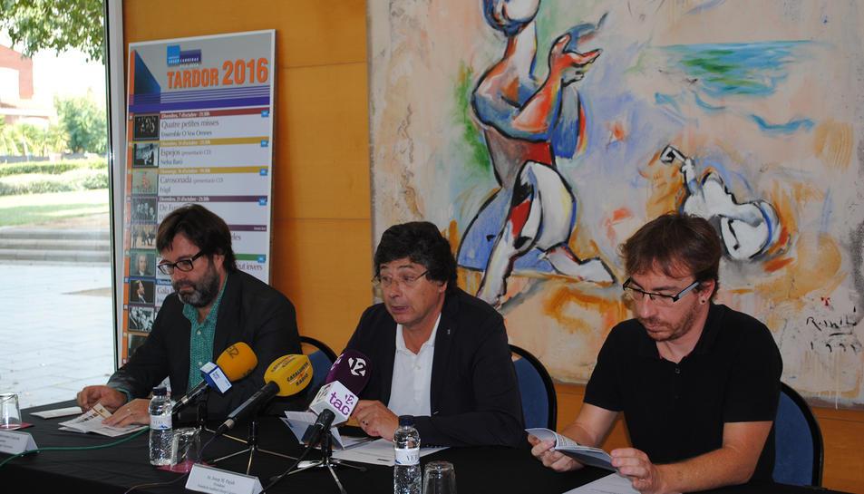 Nelsa Baró i el grup Fràgil actuaran aquesta tardor a l'Auditori Josep Carreras