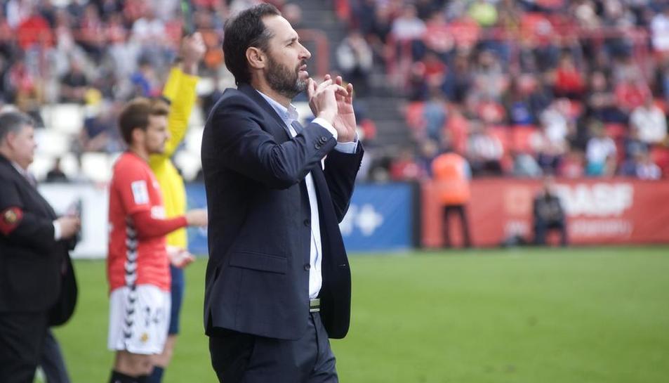 Moreno, a l'àrea tècnica.