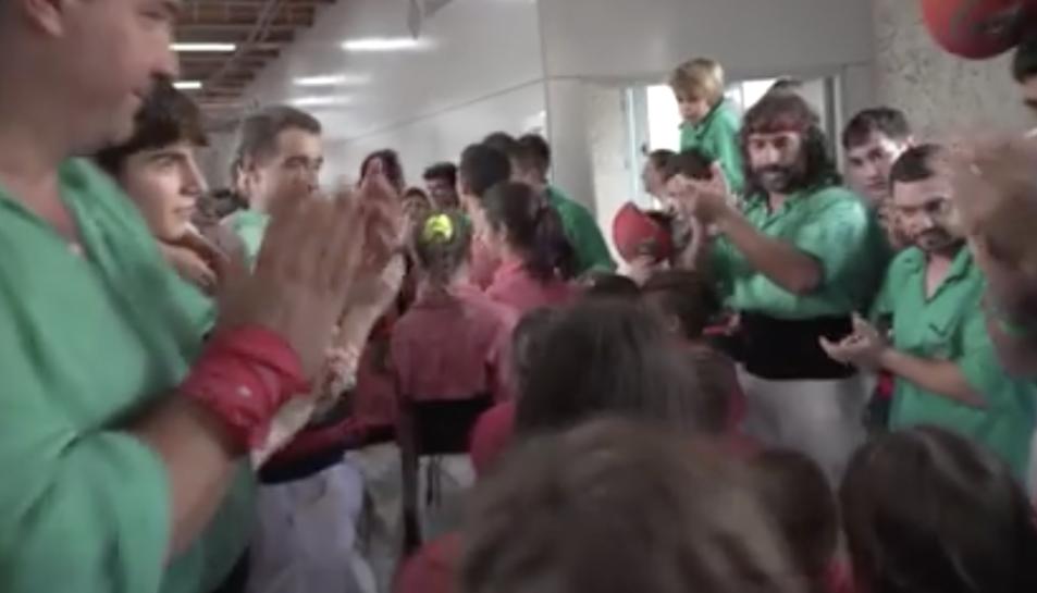 Captura del video del programa 'Quarts de nou'