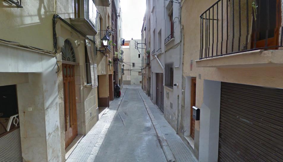 L'esfondrament s'ha produït al número 29 del carrer Flavià.