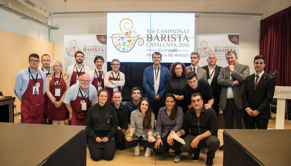Els participants i l'organització d'aquest onzè concurs.