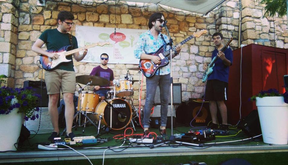 Imatge d'arxiu de The Krav Maga en concert.