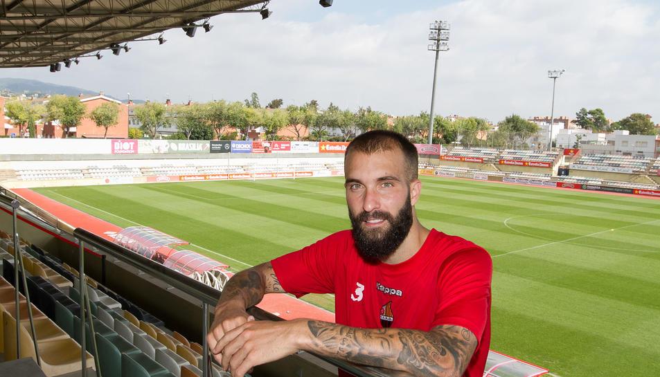 Àngel Martínez, jugador del CF Reus.