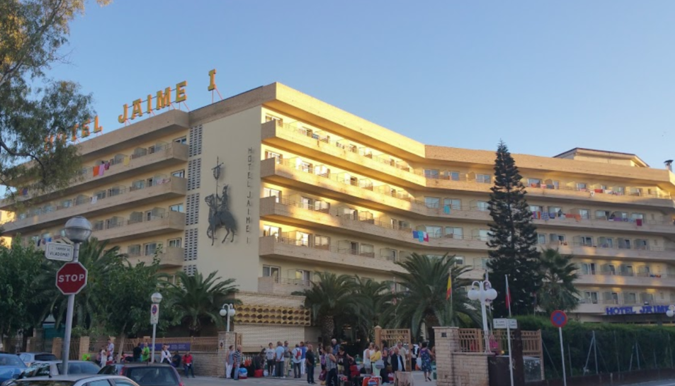L'hotel Jaume I.