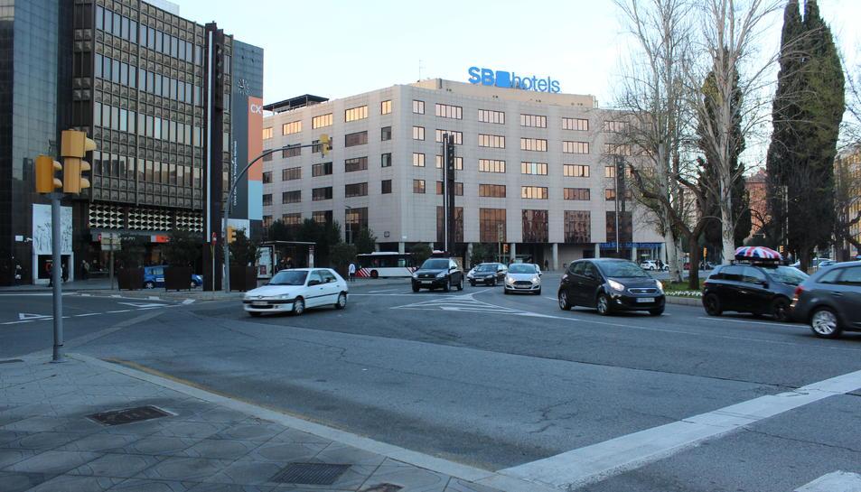 imatge d'arxiu de l'edifici de l'antiga Caixa Tarragona.