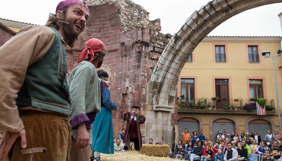 La Martingala Bandolera, un dels plats forts de la fira, es va representar ahir a la tarda.