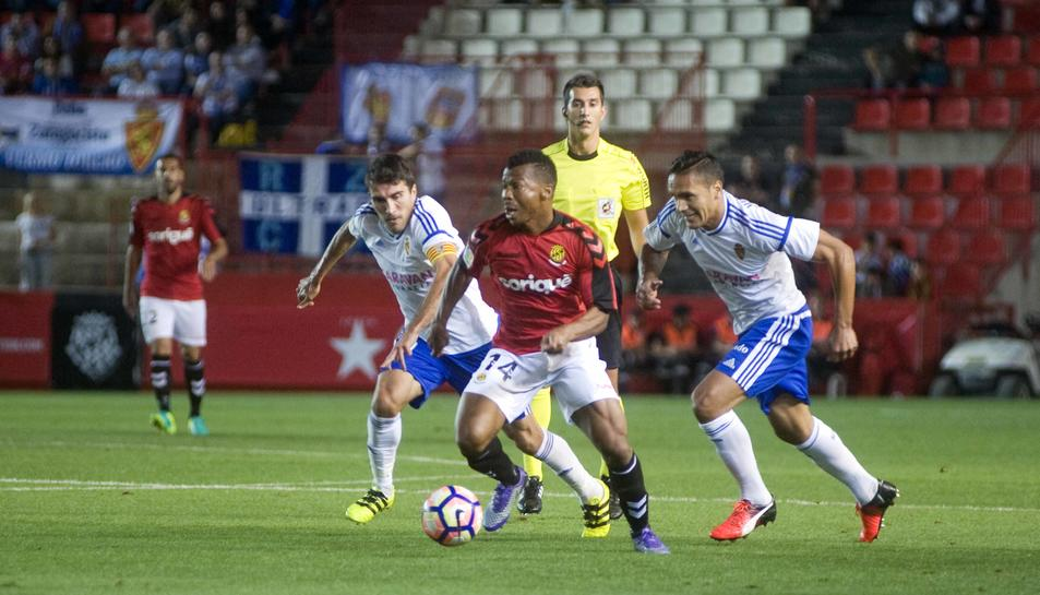 Uche va ser l'autor del gol dels tarragonins davant del filial del Sevilla.
